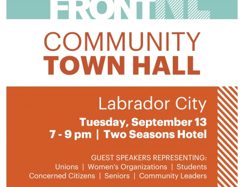 Town Hall In Labrador City September 13 2016